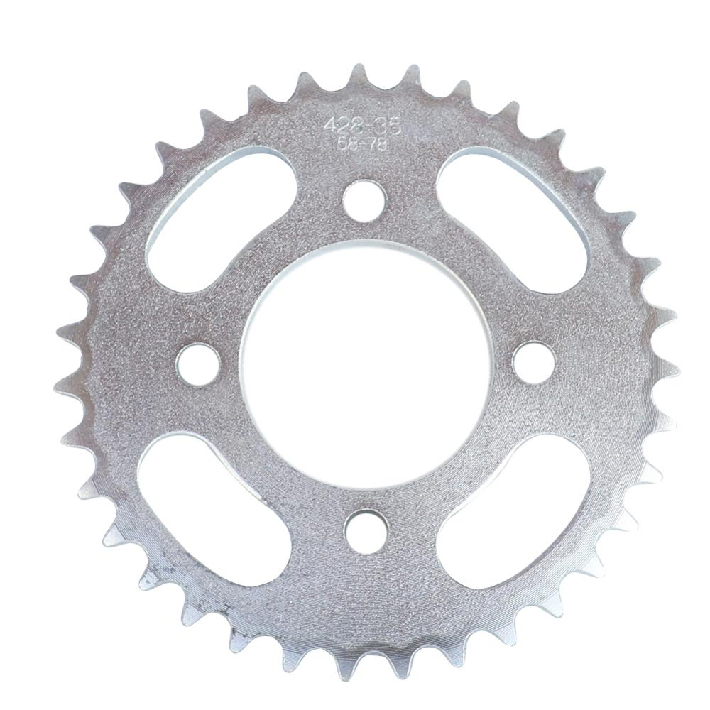 428 35 tooth 35T 58MM Rear Chain Sprocket For ATV Quad Pit Dirt Bike Buggy Go Kart Motorcycle Motor