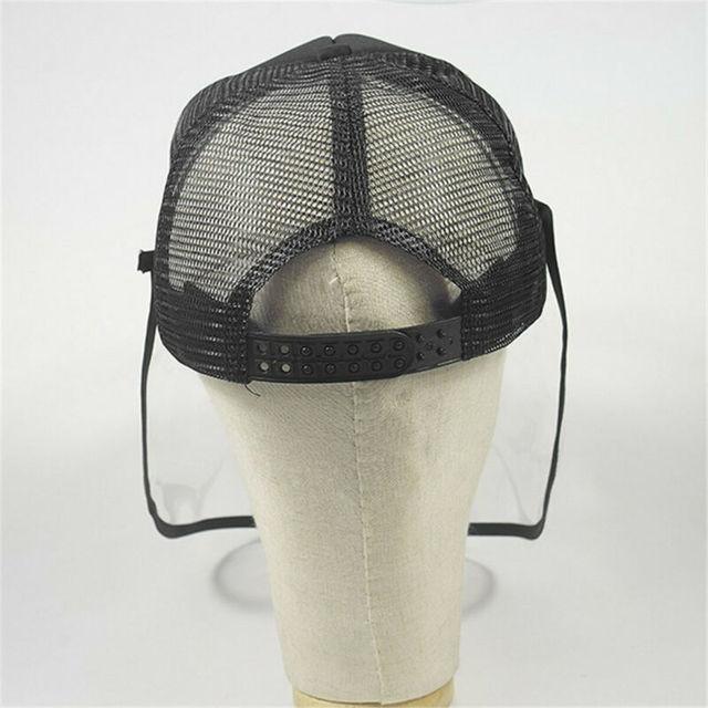 Brand New Transparent Anti Saliva Hat Splash Dust Proof Full Face Shield Anti-fog Anti-Virus Protection Mask 5