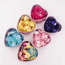Colorful Basic Elastic Hair Rubber