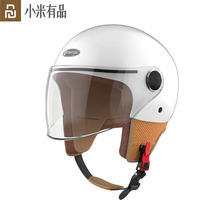 Youpin Smart4u kaski motocyklowe pół kask skuter Motor Crash kask wygodny kask kask rowerowy Unisex kask tanie tanio CN (pochodzenie) Ready-to-go Gniazdo Helmets 2 kanały bicycle helmet
