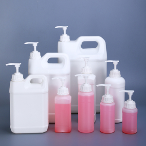 Image 5 - 500ML 1000ML Empty Square Plastic pump Bottles for Lotion Shampoo Alcohol Dispenser Food Grade 4PCS/lot