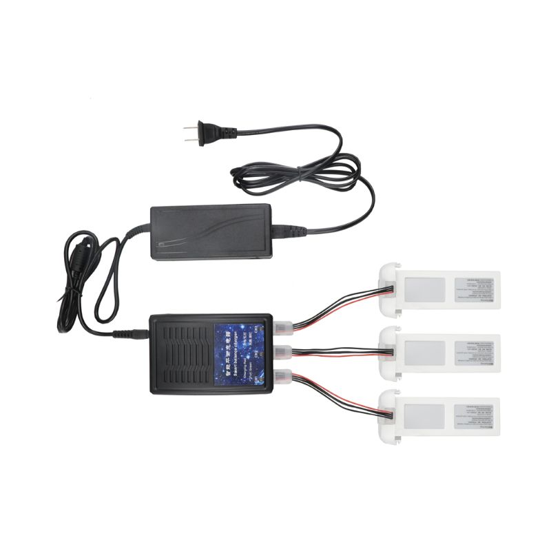 High quality 3in1 Smart Balace Charger Adapter <font><b>Battery</b></font> Charger for <font><b>FIMI</b></font> <font><b>A3</b></font> RC Quadcopter image