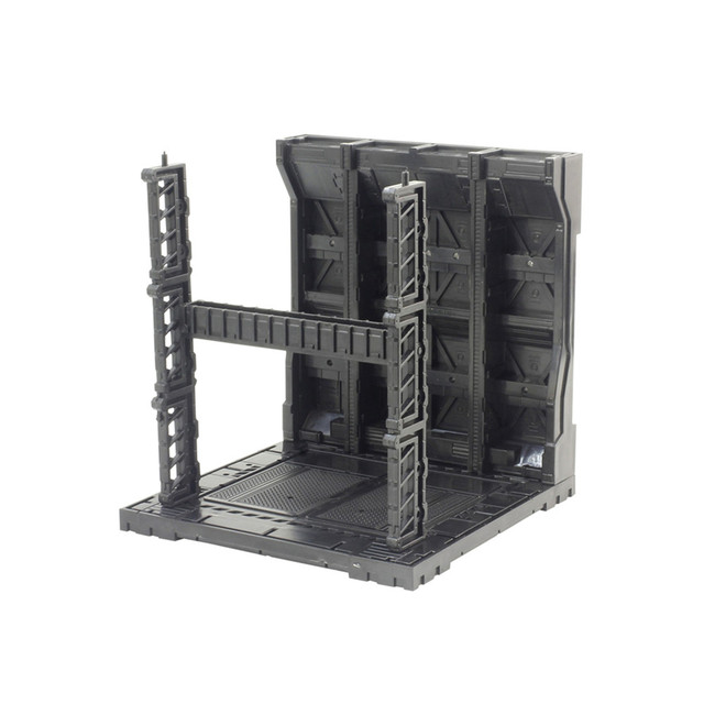 1set Mechanical Chain Case Machine Nest Action Base for HG MG RG Gundam Model 1/100 and 1/144 Model Accessories