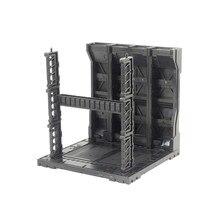 1set Mechanische Chain Case Machine Nest Actie Base voor HG MG RG Gundam Model 1/100 en 1/144 Model Accessoires