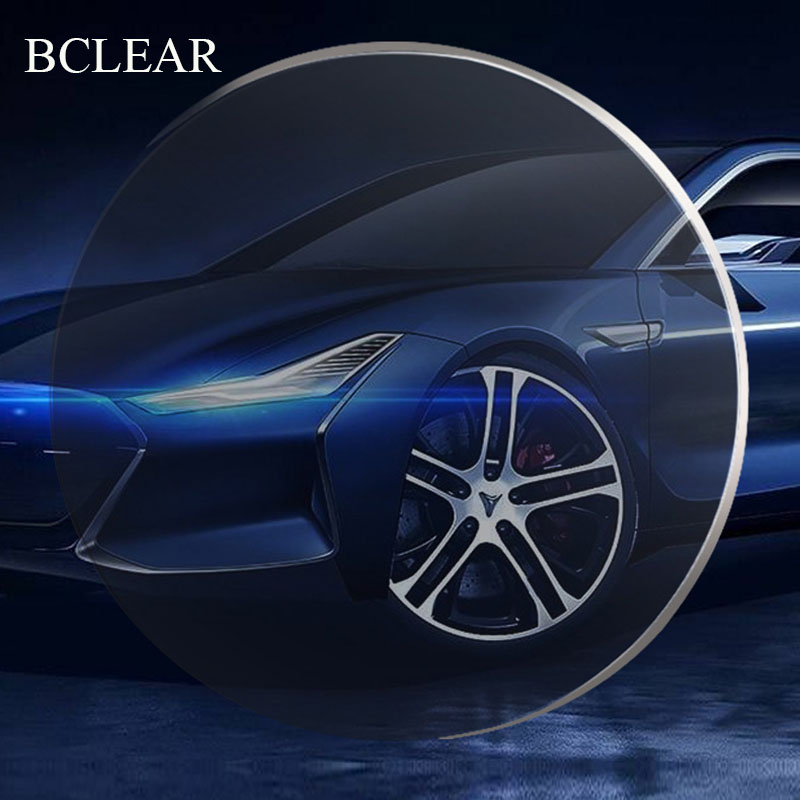 BCLEAR 1.56 1.60 Anti-blue Ray Anti-glare Driving Lenses Anti UV Strong Light Prescription Myopia Aspherical Resin Optical Lens