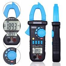 BSIDE ACM03 PLUS Digital Multimeter 400A AC/DC Current Clamp Meter Capacitance Frequency Tester Induction Voltage Alarm