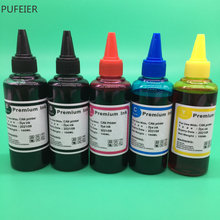 5 Bottles PGI 570 CLI 571 PGI570 CLI571 Dye Based Ink For Canon PIXMA MG5750 MG5751 MG5752 MG5753 MG6850 MG6851 MG6852 MG6853