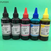 5 garrafas PGI-570 CLI-571 tinta à base de tinta pgi570 cli571 para canon pixma mg5750 mg5751 mg5752 mg5753 mg6850 mg6851 mg6852 mg6853