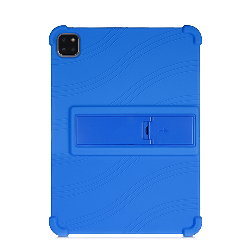 Blue Blue SZOXBY For iPad Pro 11 Case 2020 Flip Silicone Soft Cover For iPad Pro 11 2nd