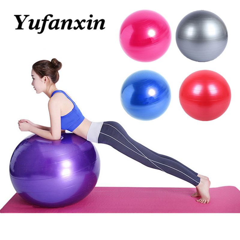 Sports Yoga Balls Bola Pilates Fitness Gym Balance Fitball Exercise Pilates Workout Massage Ball