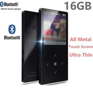 Image 2 - Bluetooth4.2 MP3 נגן 16GB מגע מפתח 1.8 אינץ צבע מסך מוסיקת Lossless תמיכת FM, הקלטה, תמיכת SD עד 128GB