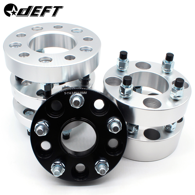 DEFT 5X114.3 15mm Hubcentric 67.1mm Aluminum Wheel Spacer Adapter 5 Lug Suitable SUIT FOR DODGE Universal Car