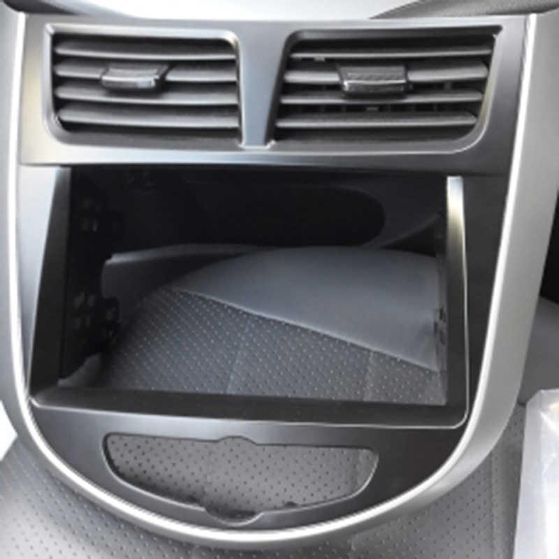 سيارة تجديد راديو فآسيا لوحة الإطار دي في دي طقم الكسوة لشركة هيونداي I-25 I25 أكسنت سولاريس فيرنا 2DIN داش واجهة ستيريو ، 2 Din