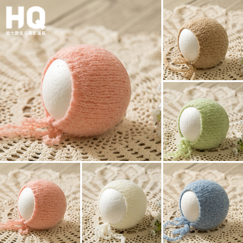 Newborn Photography Hat Baby Photo Shooting Props Infant Unisex Photo Shot Accessories