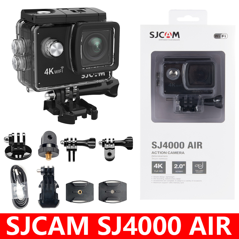 "SJCAM SJ4000 AIR Action Camera Full HD Allwinner 4K 30fps WIFI 2.0"" Screen Mini 170D underwater Waterproof Sports DV Camera