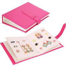 Складной чехол книжка для ювелирных изделий креативный дорожный