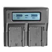 Applicable to Canon Lp-E6 / E6N Digital Camera Battery Charger LCD (US Plug)