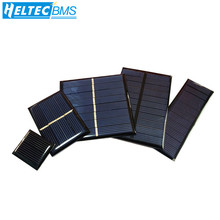 Whole sale Min Solar panel 0.5V 1V 2V 3V 4V 5V 80MA 100MA 120MA 130MA 160MA Solar Cell For diy Solar charger buheshui 1w 4v solar panel with base solar cell for 1 2v 2xaa 2xaaa rechargeable battery charging directly 10pcs high quality