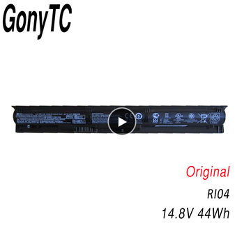 GONYTC New Original RI04 Battery for HP Probook 450 455 470 G3 G4 for ENVY 15 15-q001tx 805047-851 805294-001 HSTNN-DB7B image