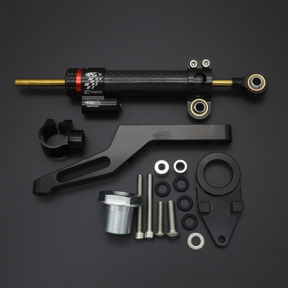 Для Kawasaki Ninja ZX-6R ZX6R 636cc 2009 2010 2011 2012 2013 2014 2015 2016 2017 2018 2019 комплект крепления кронштейна рулевого демпфера