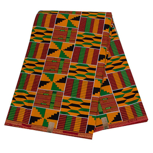 Image 5 - 2020 Royal Wax Batik Prints Africa Fabric Pagne 100% Cotton Ankara Kente Real Wax Tissu Best Quality For Party Dress Handmake