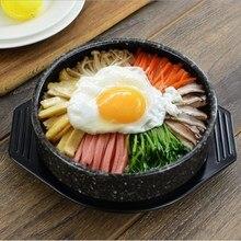 Maifan камень узор Корейский камень горшок рыба камень горшок Bibimbap специальные керамические кастрюли для отправки лоток выпечки горшок кухонные принадлежности