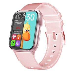 Image 1 - スマートウォッチHW12 40ミリメートルスマートウォッチシリーズ6フルスクリーンbluetooth通話、音楽再生スマートブレスレットandroid appleのスマート電話