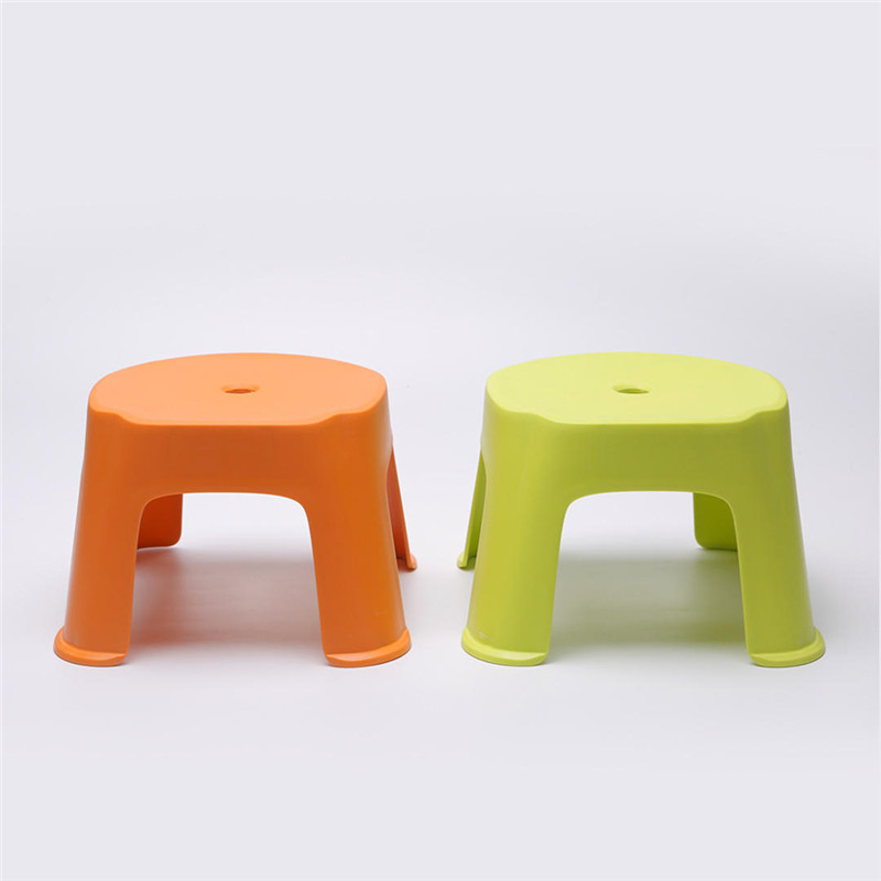 High Quality Colorful Childrens Square Stool Shower Chairs Scientific Height Ergonomic Design Living Rooms