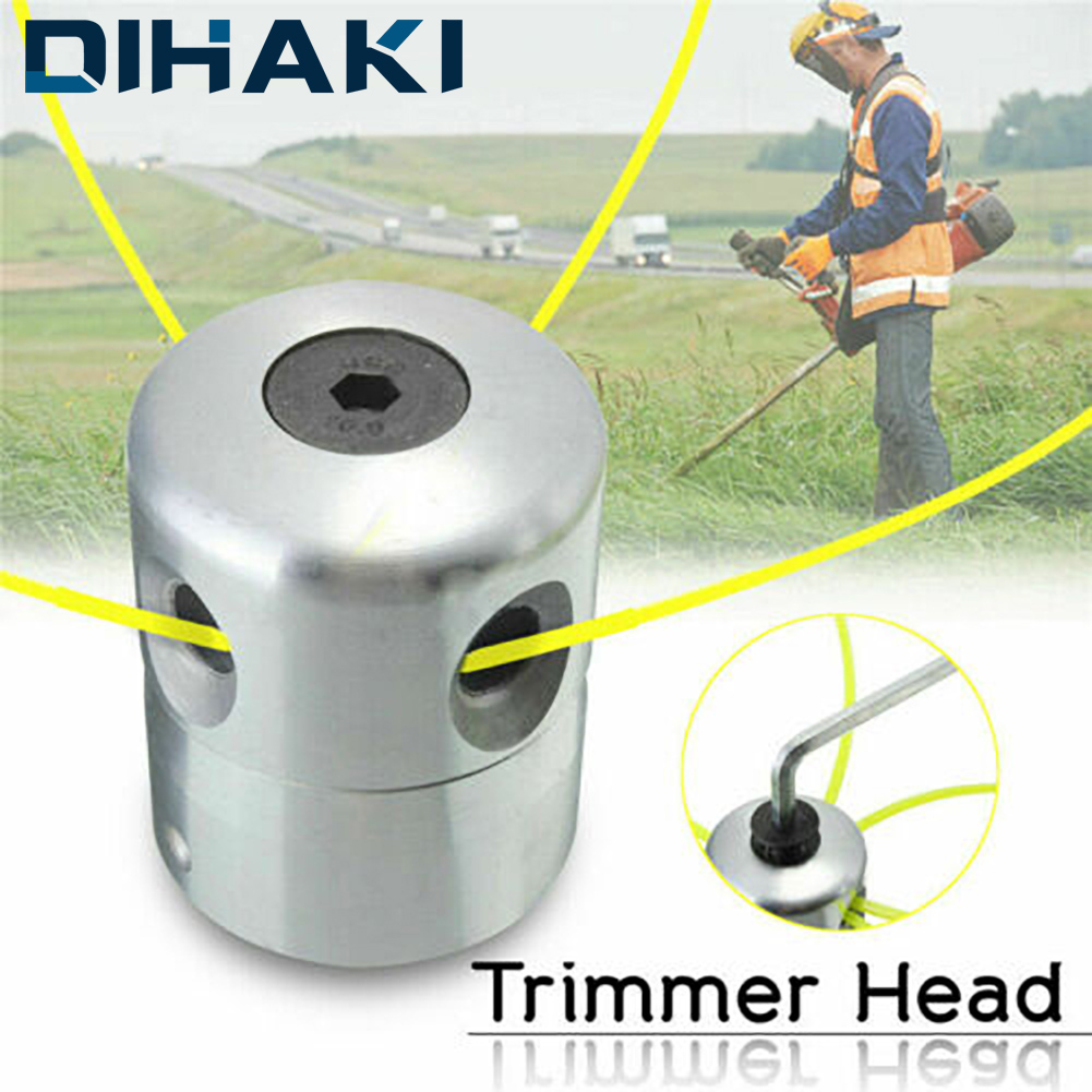 1 Pcs Universal Grass Trimmer Head Aluminium Strimmer Head And Trimmer Heads String Set Grass Brush Cutter Accessory Replaceable