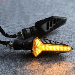 4 kolory wskaźnik migający moto flahsher dla benelli vespa yamaha miękka końcówka harley sportster LED część kierunkowskaz motocykla -