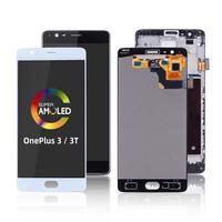 Ersatz Ersetzen Auf Touchscreen Für oneplus 3 Display Digitizer LCD Screen Display Für oneplus 3