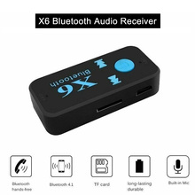 Wireless Bluetooth 3.5mm AUX Audio Stereo Music A2DP Car Handsfree Receiver Adapter OUJ99 handsfree car bluetooth music receiver universal 3 5mm streaming a2dp wireless auto aux audio adapter with mic