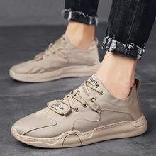 Doek Comfortabele Kleine Witte Schoenen Mannen Kant Casual Board Schoenen Koreaanse Mannen Trend Mannen Schoenen Vibrerende De