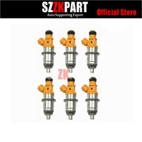 6x 60V 13761 00 00 E7T25080 1465A011 MD361845 MR560555 fuel injector for Yamaha Outboard HPDI 200 225 250 300 HP