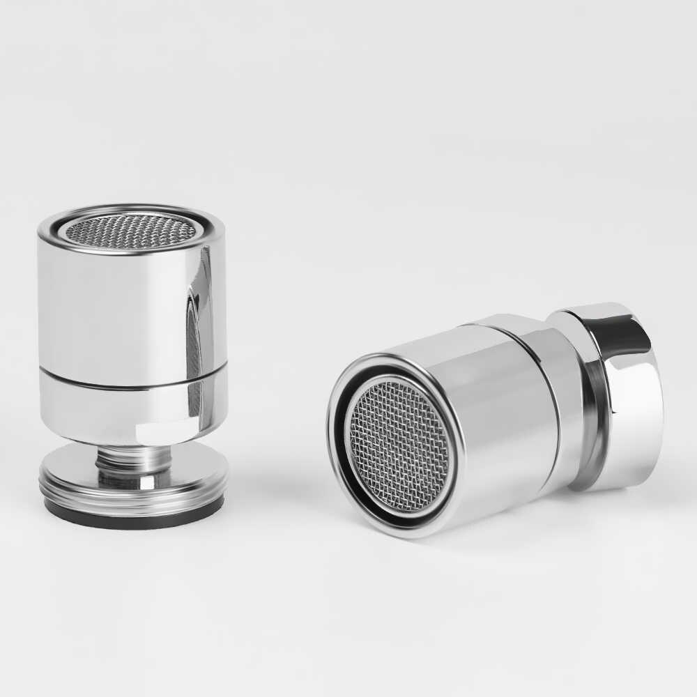 Adecuada para Cocina//Ba/ño Boquilla Mezcladora de Doble Funci/ón Cabezal Giratorio Giratorio de 360 Grados Tamiz Ahorrador de Agua LEPO Aireador de Grifo Regulador de Chorro