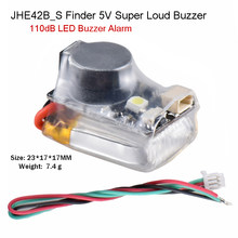 JHE42B JHE42B_S Finder 5V Super Loud Buzzer Tracker 110dB with LED Buzzer Alarm For FPV Drone Flight Controller