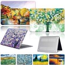 Новый macbook air 11 / 13 pro 15 16 12 моделей с рисунком краски