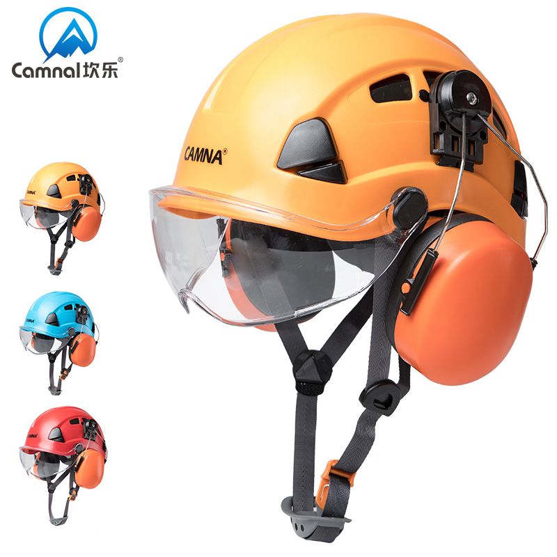 P323 Outdoor Cavern Climbing Industry Protection Protection Light Helmet Hardhat Aerial Work Rescue Helmet Rock Climbing