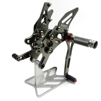 For Yamaha YZF R25 R3 2017 2018 2019 2020 MT25 MT03 MT-03 CNC Adjustable  Rearset Rear Set Footrest Foot Pegs YZF-R3 YZF-R25 for yamaha yzf r3 yzf r3 2015 2016 yzf r25 yzf r25 2014 2015 motorcycle rear axle fork crash sliders wheel protector 5 colors