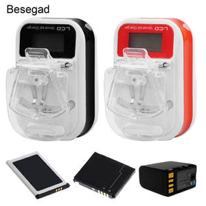 Besegad Wall-Charger Mobile-Phone-Camera Universal Samsung Nokia with Lcd-Display