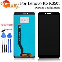 ЖК-дисплей 5,7 дюйма для Lenovo K5 K350T, сенсорный экран, дигитайзер в сборе для Lenovo K350T K5, сменный ЖК-дисплей для телефона + Бесплатные инструменты