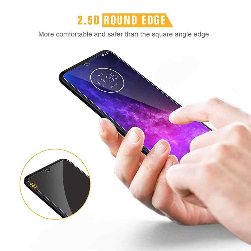 9H 2.5D temperli cam Motorola MOTO One Zoom bir vizyon bir güç Z4 kuvvet Z4 Play ekran koruyucu film koruyucu cam
