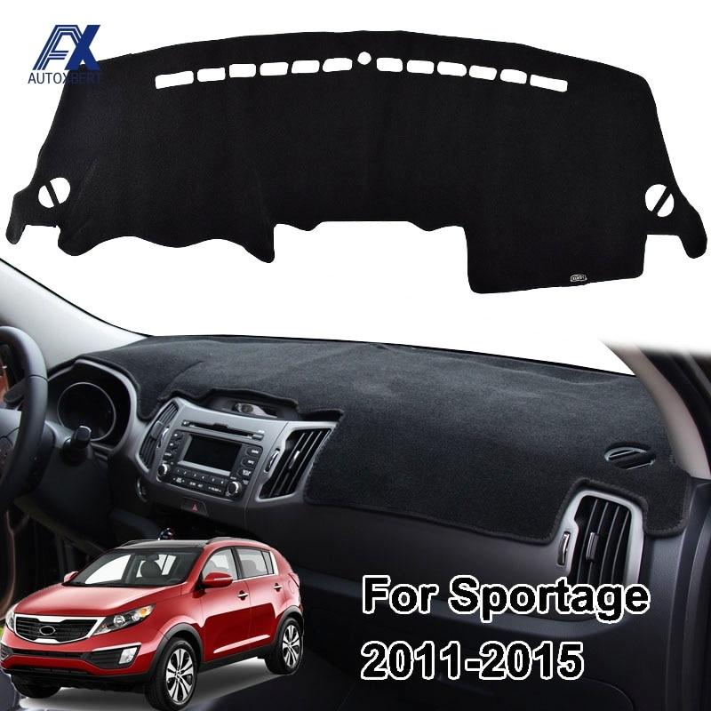 Xukey Dashmat Dash Mat Dashboard Cover For Kia Sportage R 2011-2015
