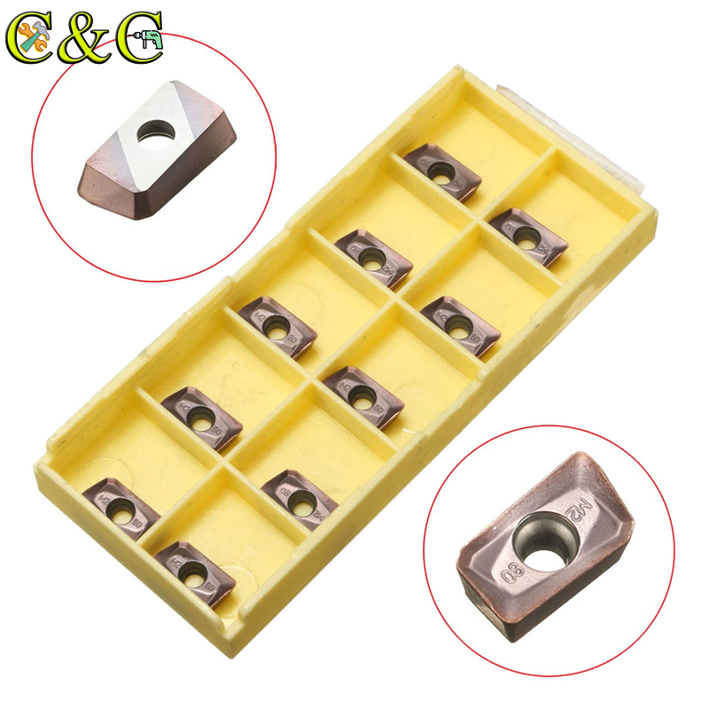 10pcs APMT1135PDER-M2 VP15TF Milling Carbide Insert APMT 1135 Face Mill CNC Tools Cutter Lathe For BAP300R Turning Tool