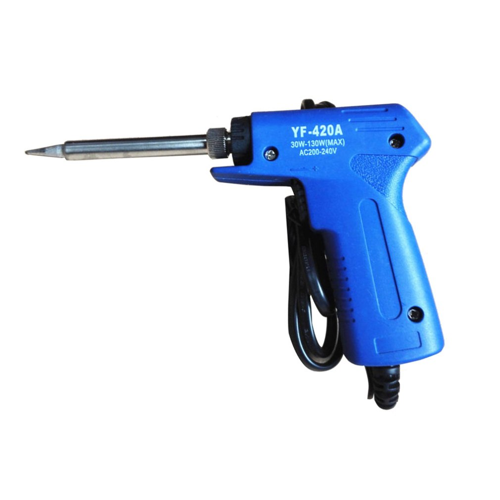 30W-130W Electric Soldering Iron Double Power Gun Electric Soldering Iron High Power Temperature Adjusting  Fast Soldering Iron