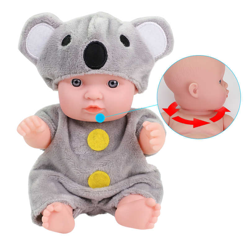 8 polegada reborn bebê boneca simulação completa silicone macio corpo vinil bonecas lifelike recém-nascido bebe brinquedos para crianças meninas presente de aniversário