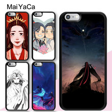 MaiYaCa Mo Dao Zu Shi Wuxian Wei Ying Phone Case For iPhone 11 Pro Max 6 6S 7 8 Plus 5 5S XS Max XR X Back Cover Coque(China)