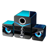 Computer Speaker Surround Sound Subwoofer Music Speaker For Laptop Notebook PC Phone Stereo Bluetooth-compatible Loudspeaker