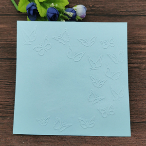 AOKEDIY Butterfly print DIY Plastic Embossing Folders for DIY Scrapbooking Paper Craft/Card Making Decoration Supplies