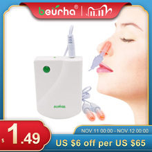 BioNase Nose Rhinitis Sinusitis Cure Therapy Nose Massage Hay fever Low Frequency Pulse Laser Runny sneeze treatment Machine